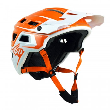 CASQUE 6D ATB-1T Evo Orange/White