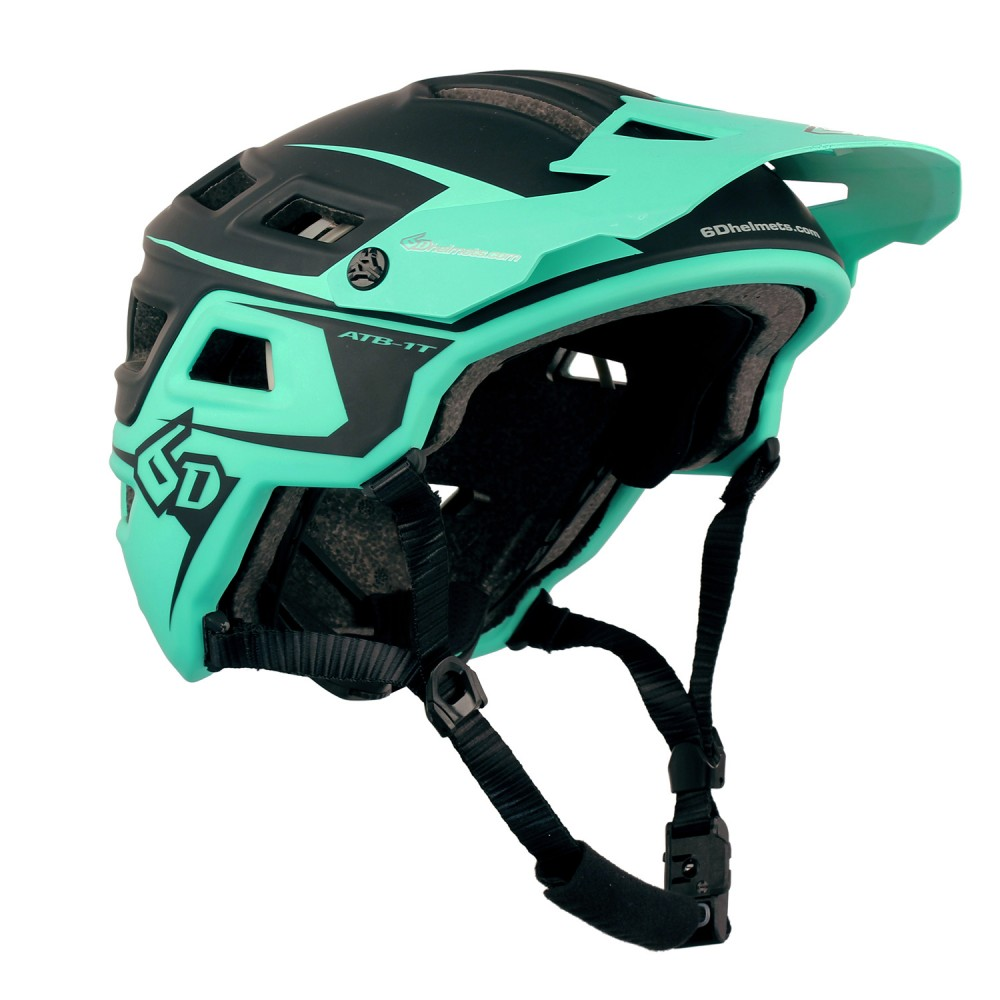 CASQUE 6D ATB-1T Evo Black/Teal