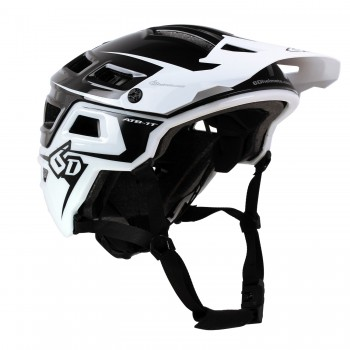 CASQUE 6D ATB-1T Evo Black/White