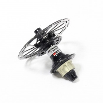 PRIDE RIVAL DISC PRO REAR HUB BLACK