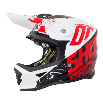 CASQUE SHOT FURIOUS VENOM BLACK/RED KID