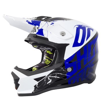 CASQUE SHOT FURIOUS VENOM BLACK/BLUE KID