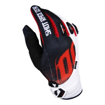 GLOVES SHOT DEVO KID VENOM RED