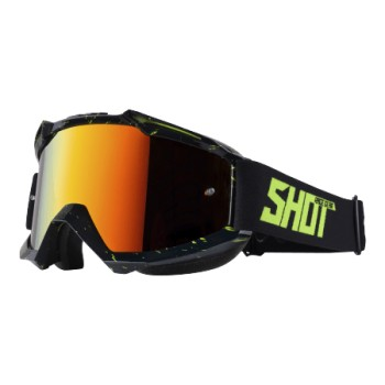 GOGGLES SHOT IRIS SCRATCH NEON YELLOW