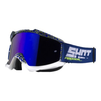 GOGGLES SHOT IRIS DUNK BLUE/NEON YELLOW