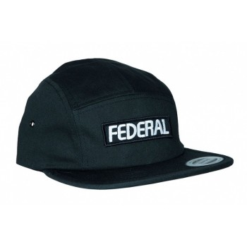 CASQUETTE FEDERAL PATCH LOGO 5 PANEL