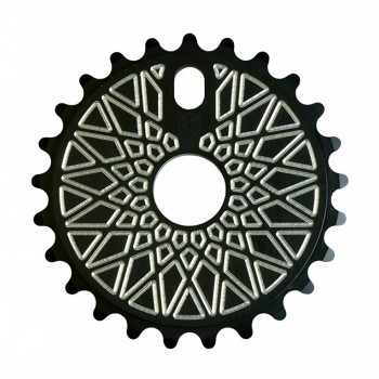 FEDERAL BBS SOLID BLACK SILVER MACHINERY SPROCKET