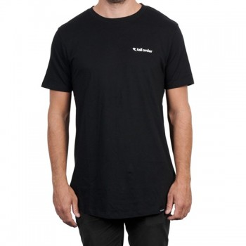 T-SHIRT TALL ORDER LOGO BLACK