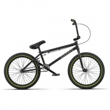 "BMX RADIO BIKE DARKO 20.5"" & 21"" MATT BLACK 2018"