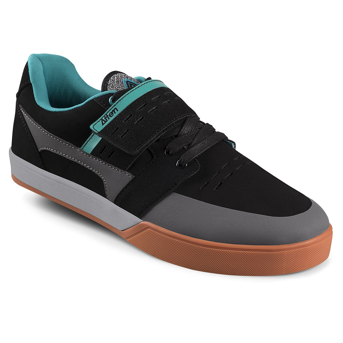 AFTON SHOES VECTAL BLACK/TURQUOISE