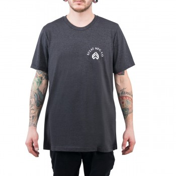 TEE SHIRT ECLAT TIGER DARK HEATHER GREY