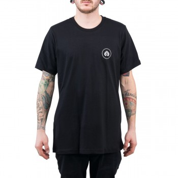 TEE SHIRT ECLAT CIRCLE ICON BLACK