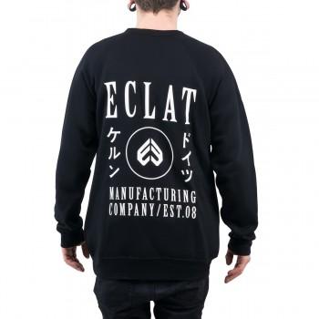 ECLAT CIRCLE ICON BLACK SWEAT