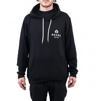 SWEAT HOOD ECLAT TILL DEATH BLACK