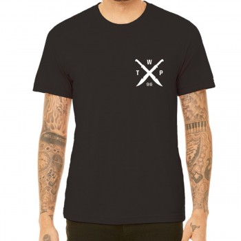 WETHEPEOPLE MACHETTE BLACK TEE SHIRT