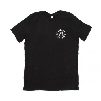 TEE SHIRT WETHEPEOPLE POCKET ESTD 96 BLACK