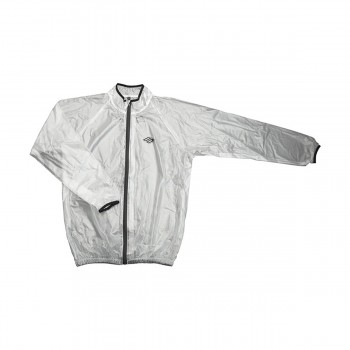 COUPE VENT IMPERMEABLE SHOT TRANSPARENTE / NOIR