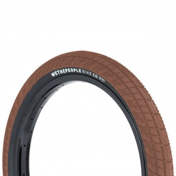 "PNEU WETHEPEOPLE OVERBITE 20X2.35"" - BROWN/BLACK SIDEWALL"