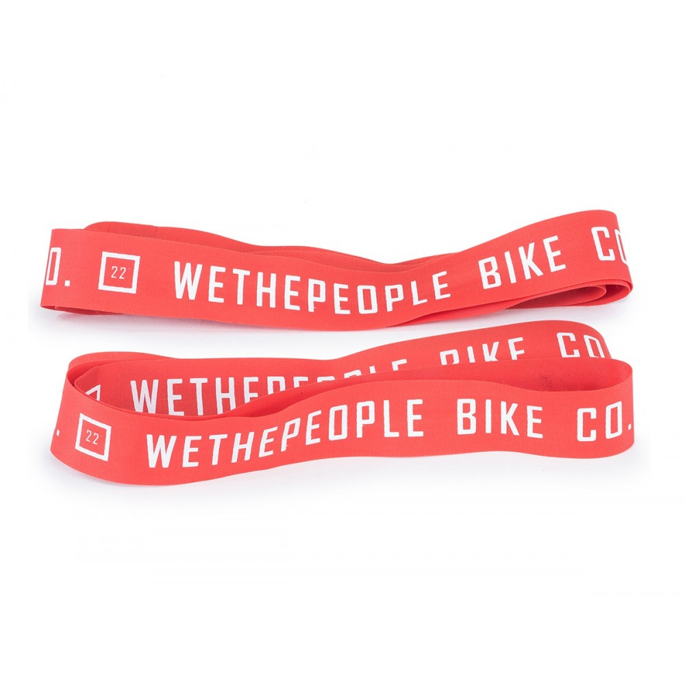 WETHEPEOPLE 22'' RED RIM TAPES