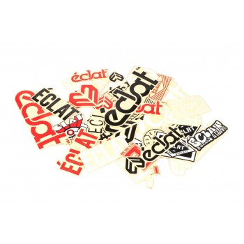 ECLAT STICKER STICKERS PACK (39 assorties)