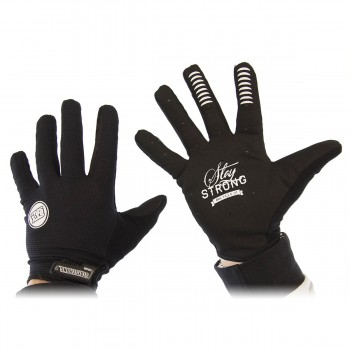 GANTS STAY STRONG STAPLE  - BLACK