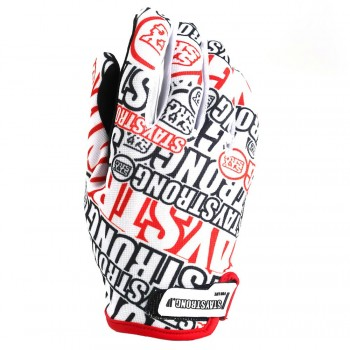GANTS STAY STRONG OG - WHITE/RED