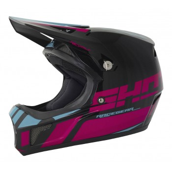 SHOT ROGUE SOLID MATT BLACK HELMET