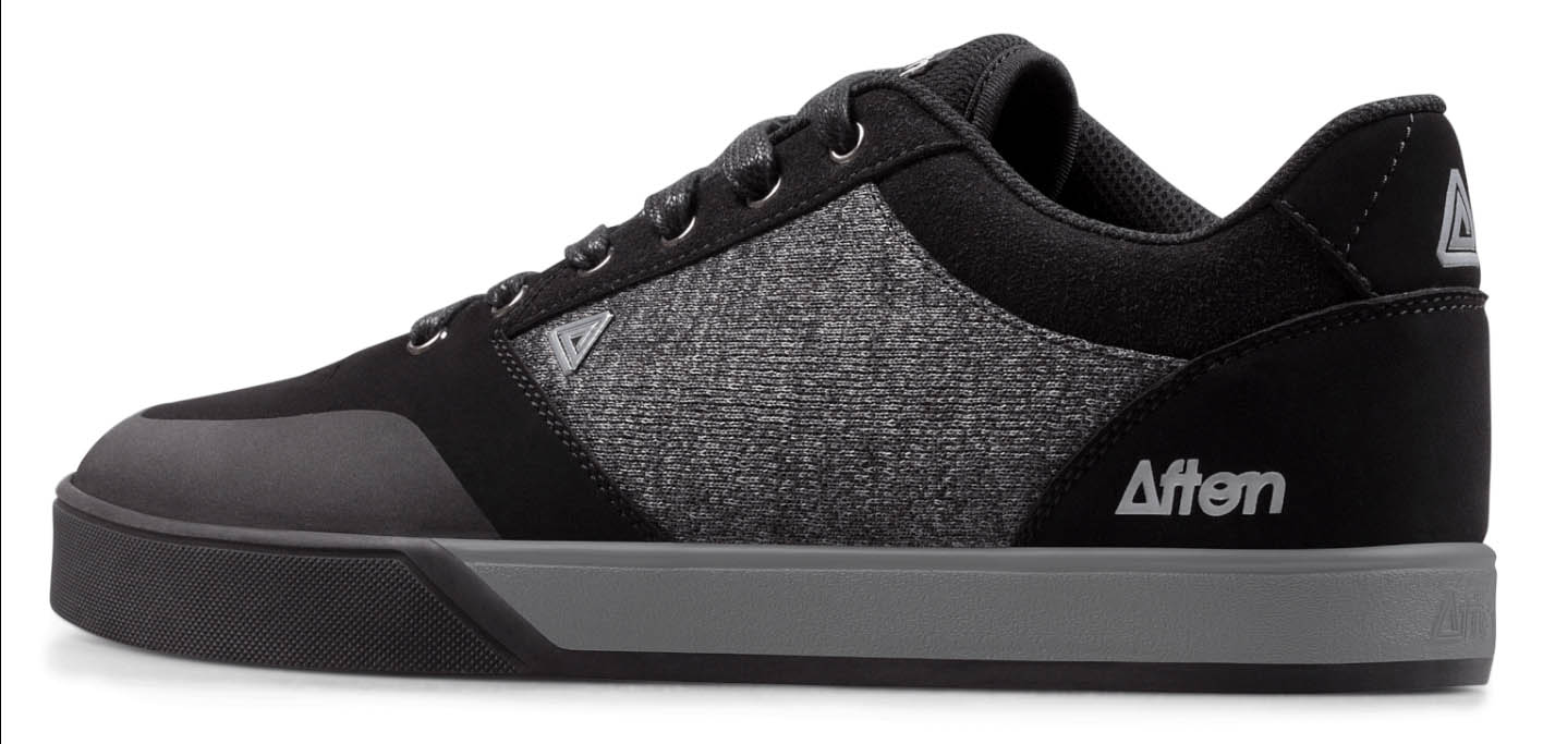 AFTON SHOES KEEGAN BLACK/HEATHERED