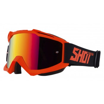 LUNETTES SHOT IRIS NEON MATT ORANGE