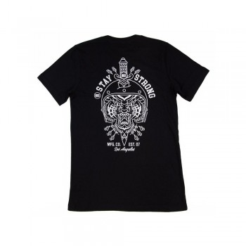 T-SHIRT STAYSTRONG COURAGE- BLACK
