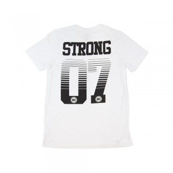 T-SHIRT STAYSTRONG RACE DVSN - WHITE