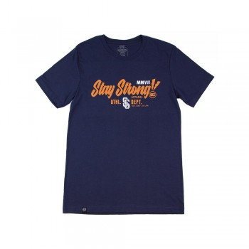 T-SHIRT STAYSTRONG LIGHTENING - NAVY