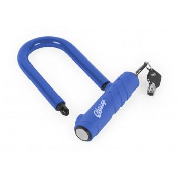 ANTIVOL ODYSSEY SLUGGER ALUMINIUM U-LOCK BLUE