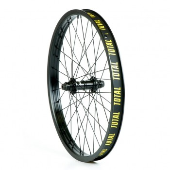 FRONT WHEEL TOTAL TECHFIRE BLACK/BLACK