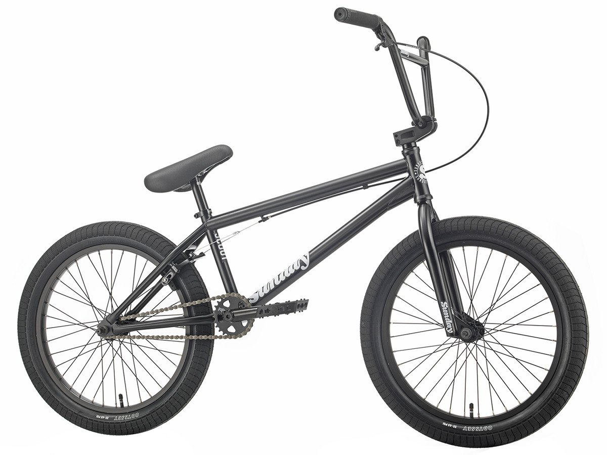 "BMX SUNDAY SCOUT 21"" MATTE BLACK 2019"