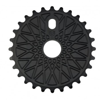 COURONNE FEDERAL BBS SOLID BLACK