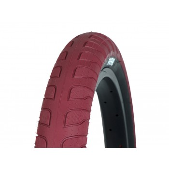 PNEU FEDERAL RESPONSE BLOOD RED BLACK SIDEWALLS