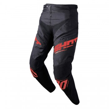 PANTALON SHOT ROGUE BLACK/RED ADULTE