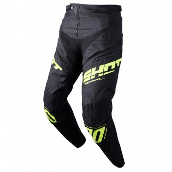 PANTALON SHOT ROGUE BLACK/NEON YELLOW ADULTE
