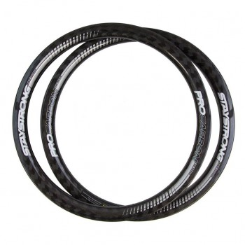 PRIDE HIGHMOD EXP CARBON RIM PAIR 12K GLOSS