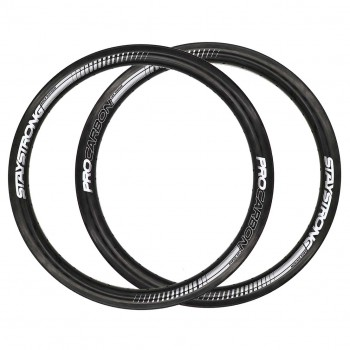 STAY STRONG PRO CARBON RIMSET - 20 X 1.75