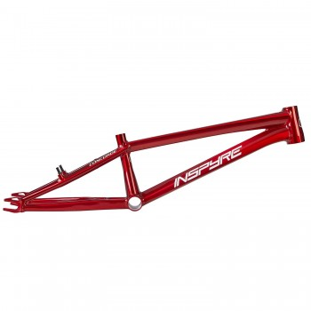 INSPYRE CONCORDE - BRUSHED RAW TRANS RED