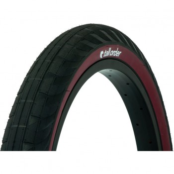 PNEU TALLORDER WALLRIDE BLACK / RED SIDEWALLS