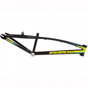 STAY STRONG FOR LIFE V2 FRAME - BLACK YELLOW TEAL