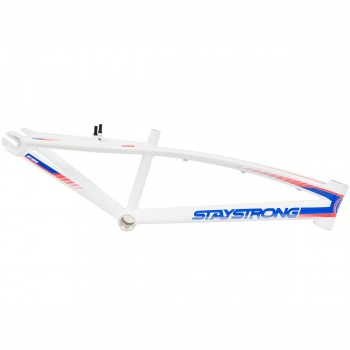 STAY STRONG FOR LIFE V2 FRAME - WHITE