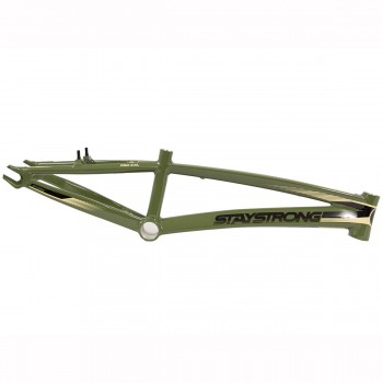 STAY STRONG FOR LIFE V2 FRAME - ARMY GREEN