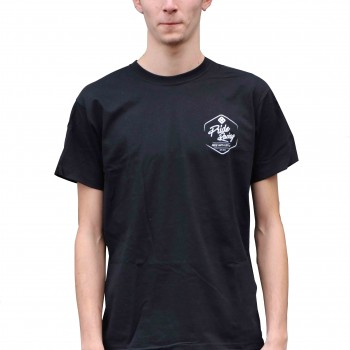 PRIDE T-SHIRT RIDE WITH STYLE BLACK