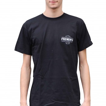 FRENCHYS T-SHIRT SINCE 2005 BLACK
