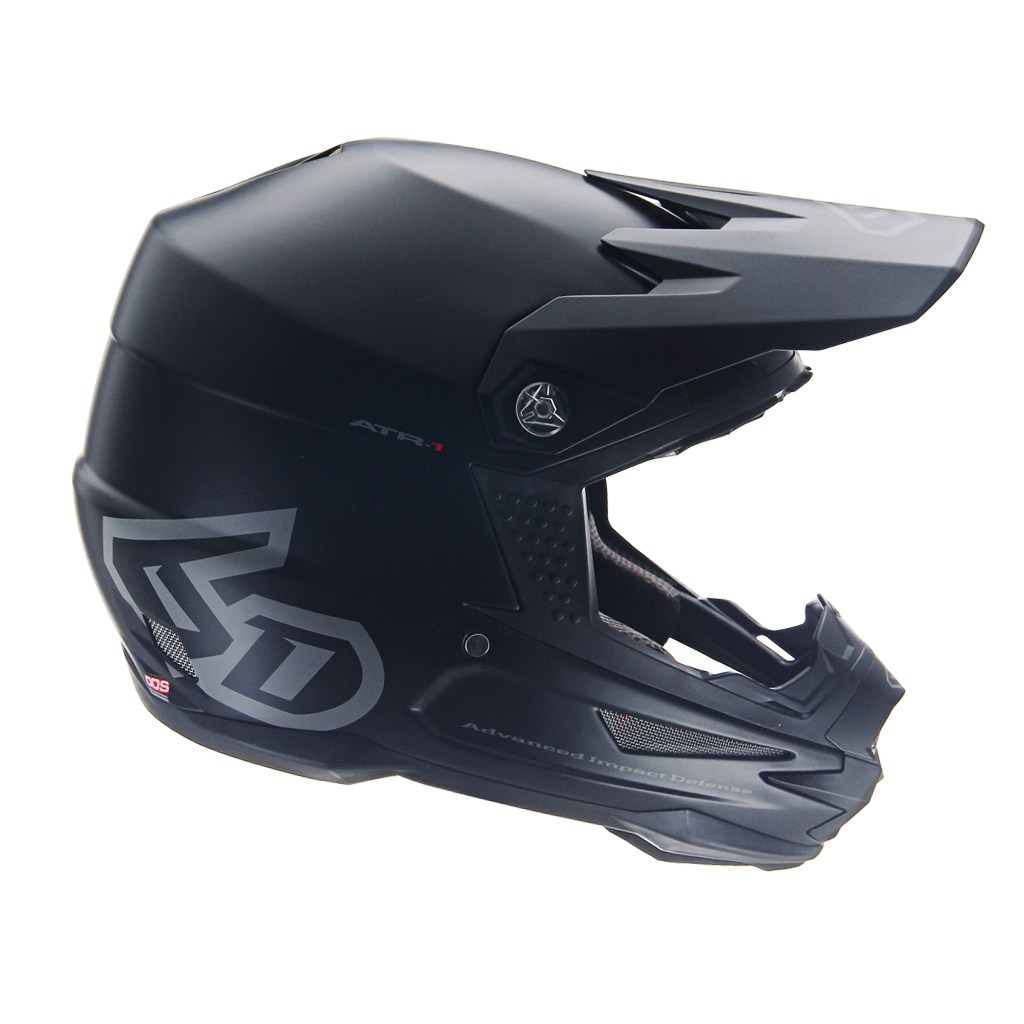 CASQUE 6D ATB-1Y MACRO MATTE BLACK T.L KID