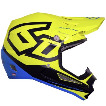 CASQUE 6D ATR-1Y MACRO NEON YELLOW